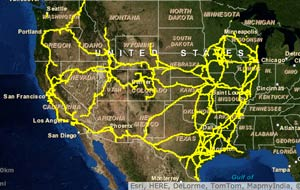 Train Travel Usa Map.Interactive Maps Of U S Freight Railroads Acw Railway Company