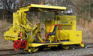 tie inserter for track maintenance