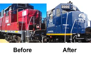Locomotive Wreck Repairs